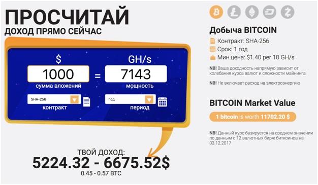 1 биткоин в день с нуля