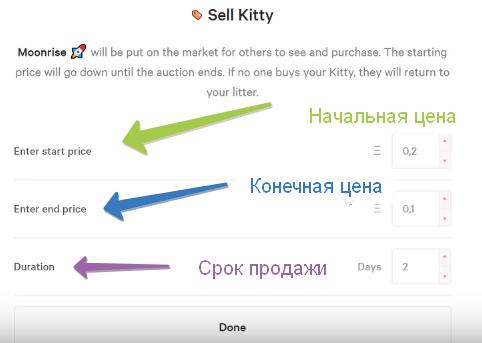 Продажа кота