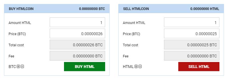 Bleutrade crypto exchange
