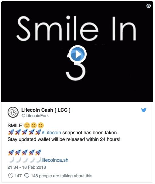 Разработчики Litecoin Cash подтвердили хардфорк Litecoin