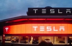 Фото автомобили Tesla