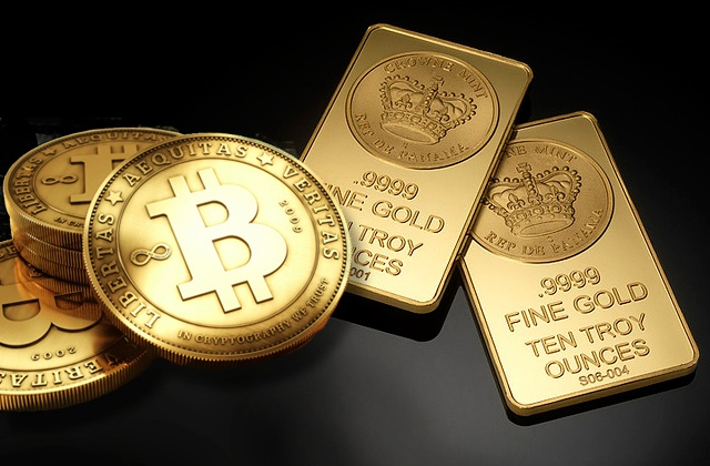 Bitcoin против золота