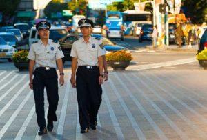 Южнокорейская полиция