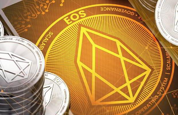 Курс EOS вырос на более чем 35%, опередив известные криптовалюты
