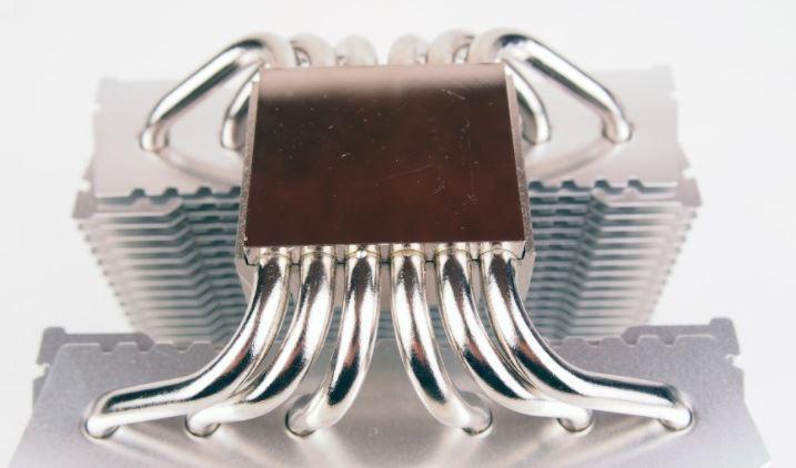 Отполированная контактная площадка. 12 тепловых трубок