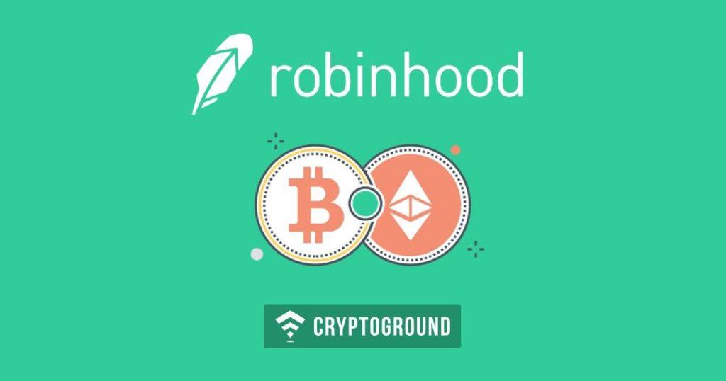 Robinhood запускает бесплатную торговлю биткойн и Ethereum в ряде штатов США
