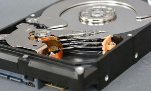 Жесткий диск с биткойнами