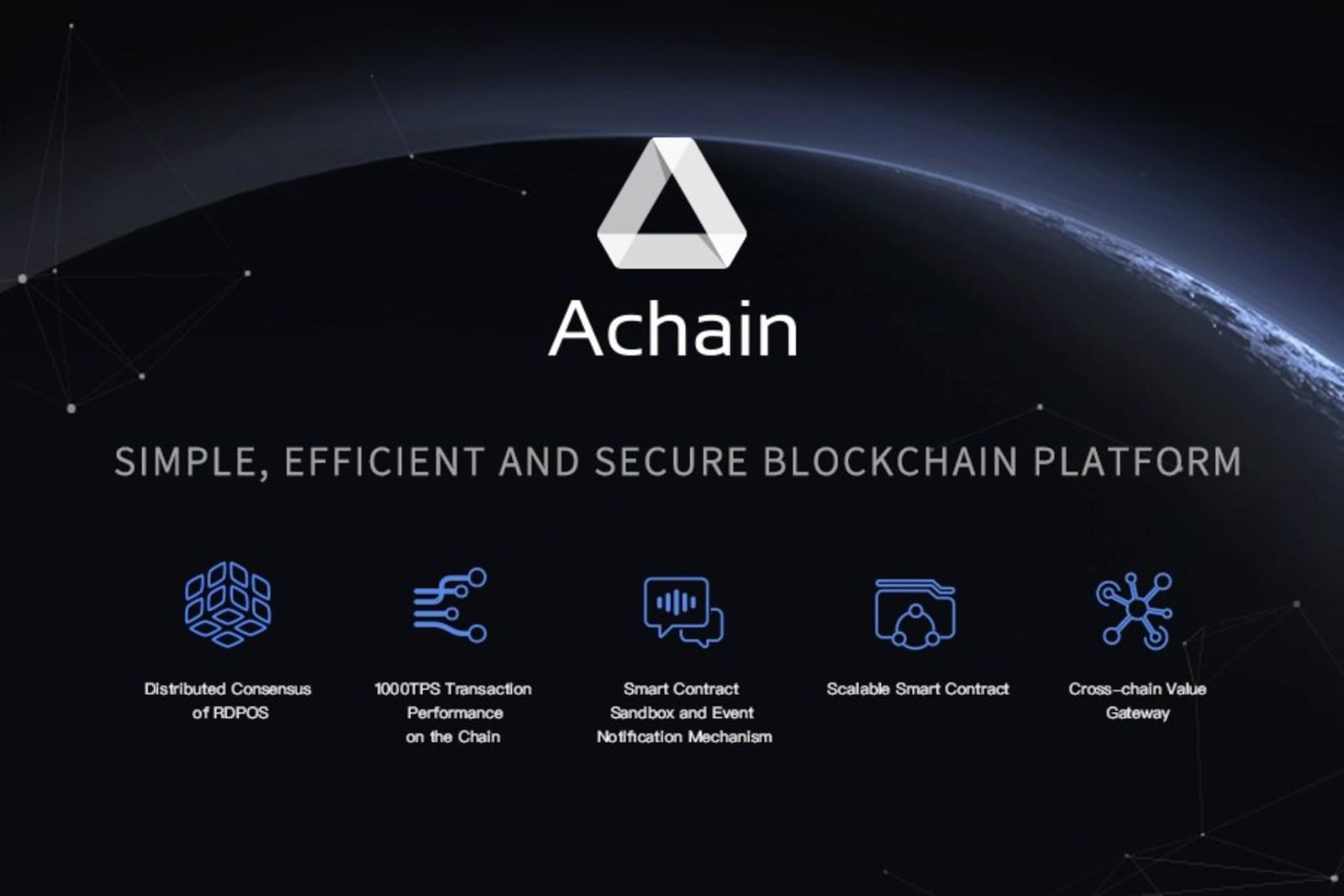 Achain криптовалюта