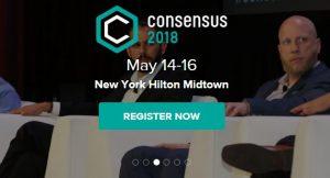 Consensus 2018, May 14-16, New-York
