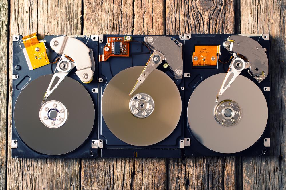 Майним криптовалюту на жестком диске