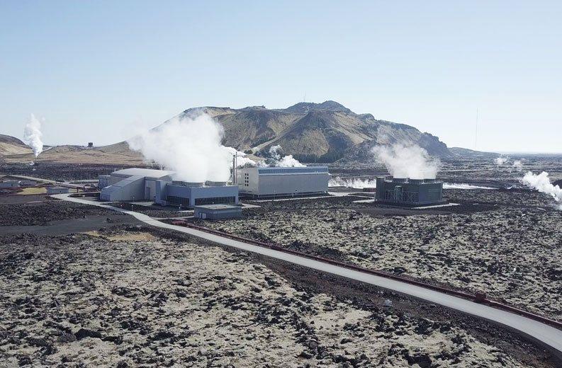 Ферма Genesis в Исландии