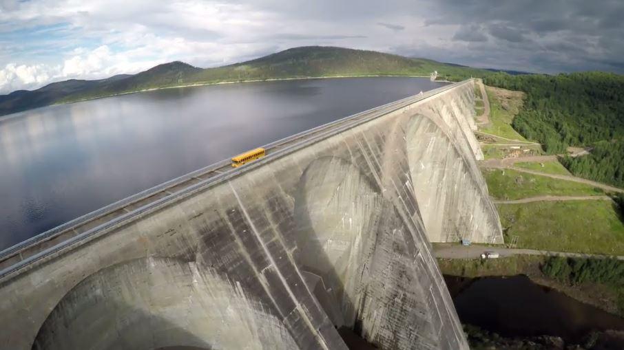 Электростанция Hydro-Quebec