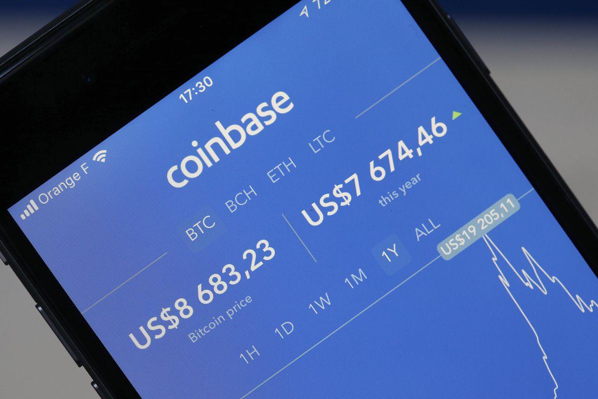 Популярность приложения Coinbase стремительно снижается