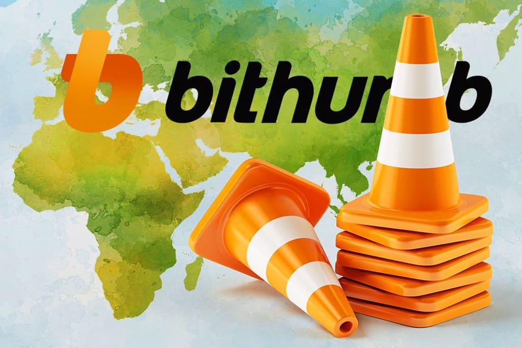 Bithumb пришлось отключить новые учетные записи из-за проблем с банком