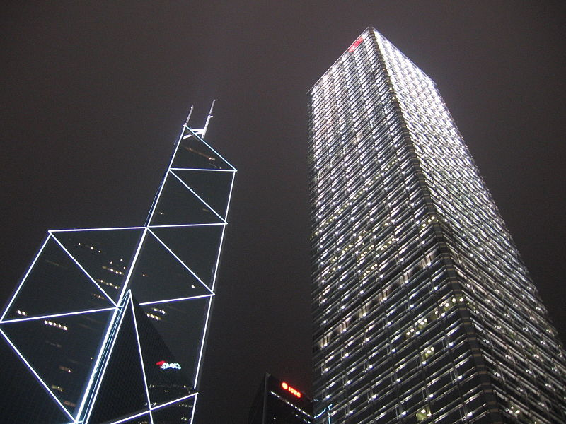 Бизнес-центр Cheung Kong Center в Гонконге