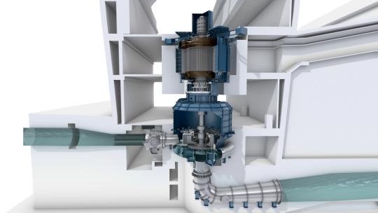 Турбонасосный агрегат от General Electric