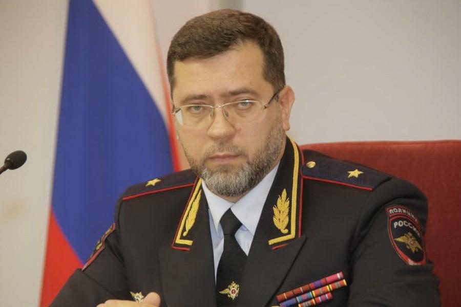 Начальник ГУНК МВД Андрей Храпов