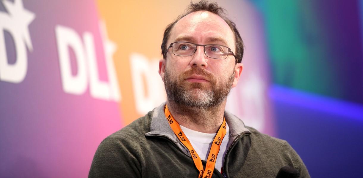 Джимми Уэйлс, основатель Wikipedia