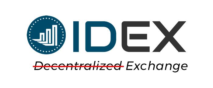 Гибридно-децентрализованная биржа IDEX