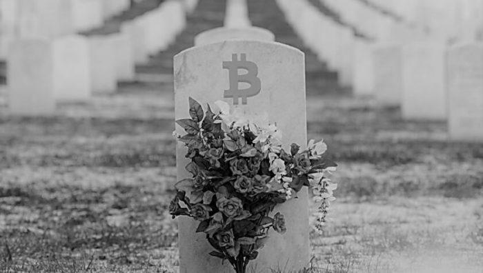 В 2018 году биткоин «хоронили» 90 раз