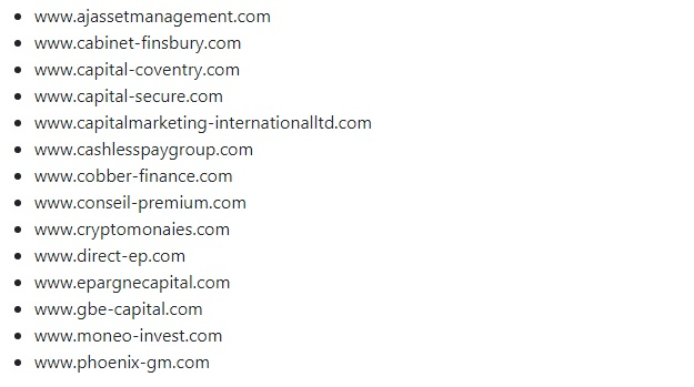 Бельгийские власти расширили список сайтов криптомошенников