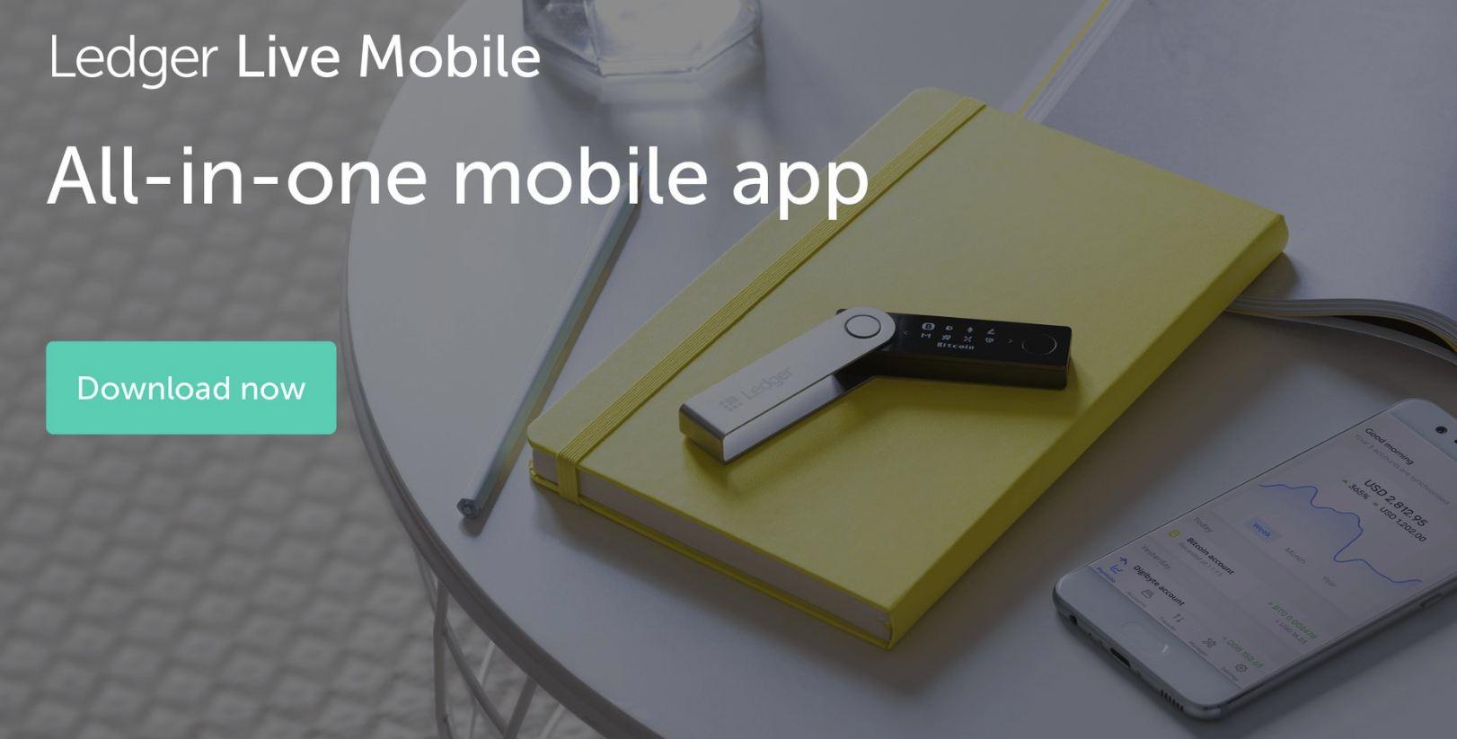 У Ledger появилось мобильное приложение