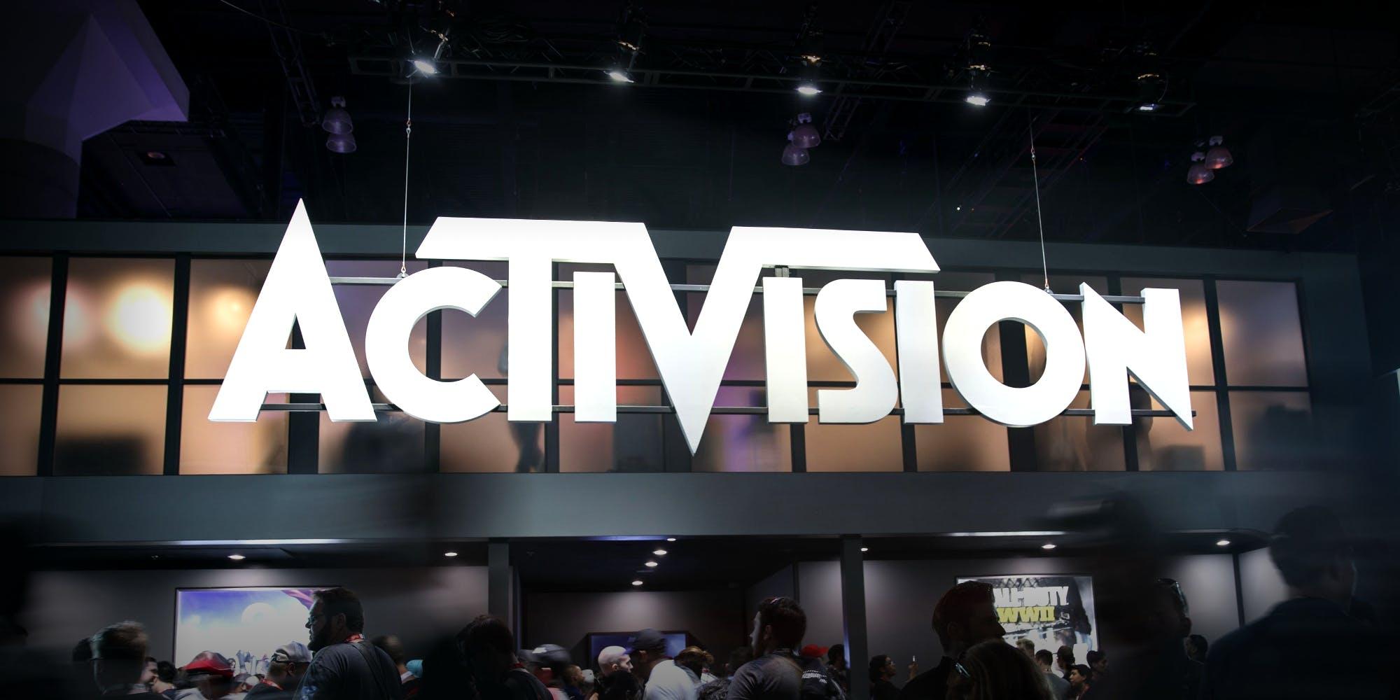 Трейдеры распродают акции гиганта Activision Blizzard