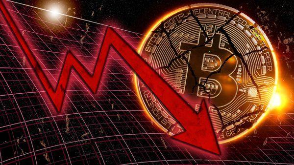 За месяц объем торговли биткоинами резко обвалился