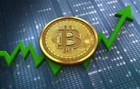 Объем ежедневных транзакций в биткоинах вырос на 210%