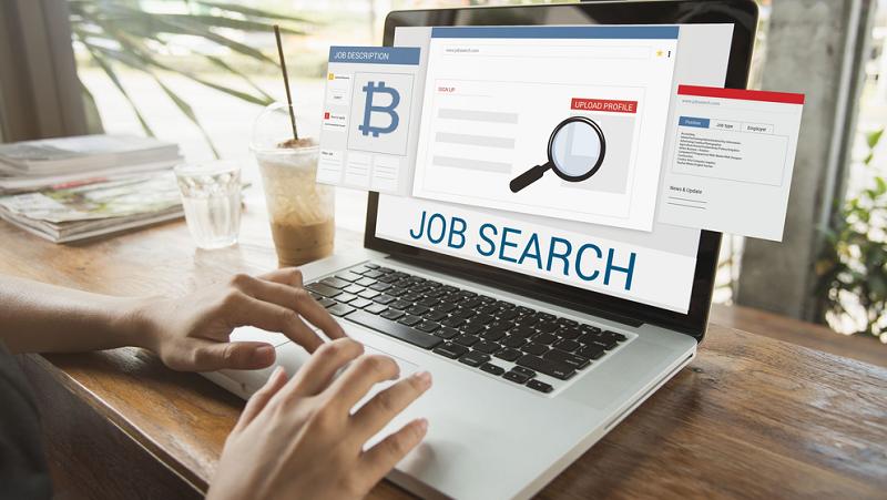 Количество поисков вакансий в криптокомпаниях сократилось на 53%