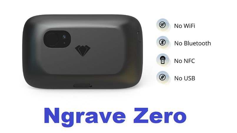 Ngrave объявила о запуске автономного криптокошелька