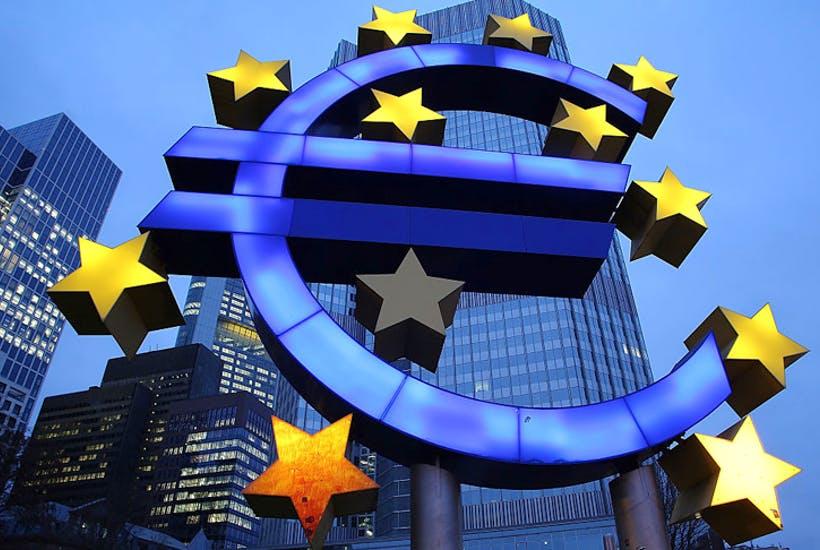 Экономка еврозоны пережила рекордный обвал