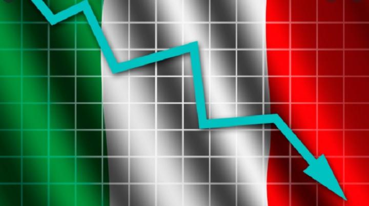Италия переживает рекордное падение экономики