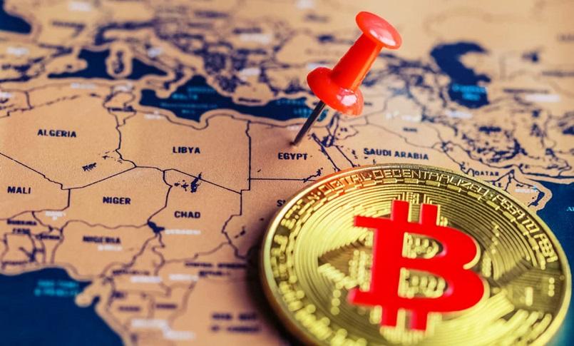 В Египте популярность биткоина стремительно растет