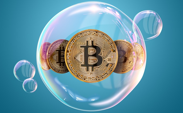 Эксперт: Биткоин попал в зону пузыря