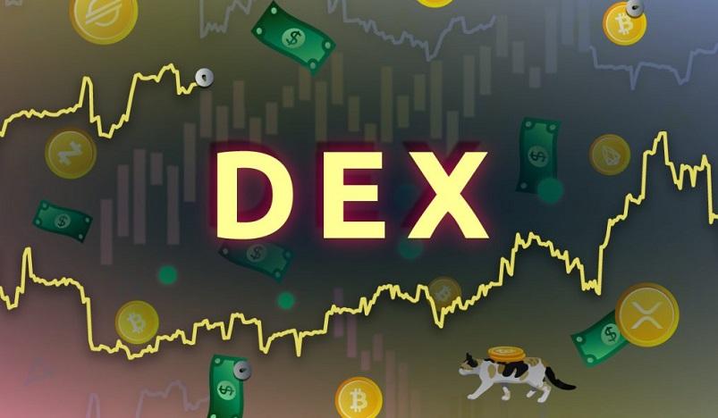 За 19 дней объем торгов на DEX превысил $33 млрд.