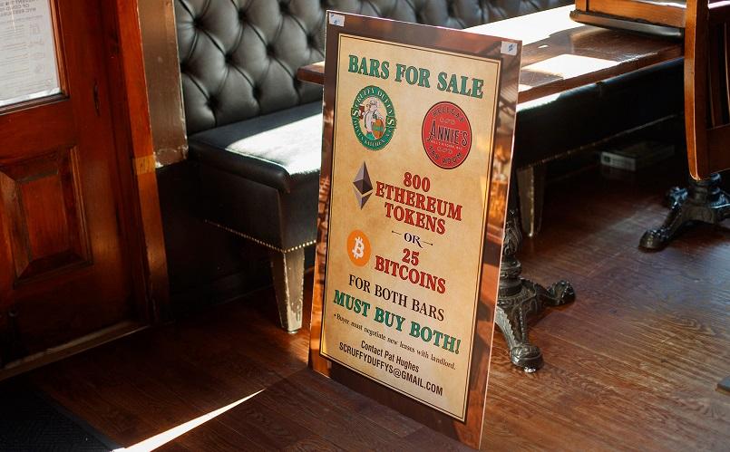 В Нью-Йорке продают два ресторана за $1 млн. в крипто