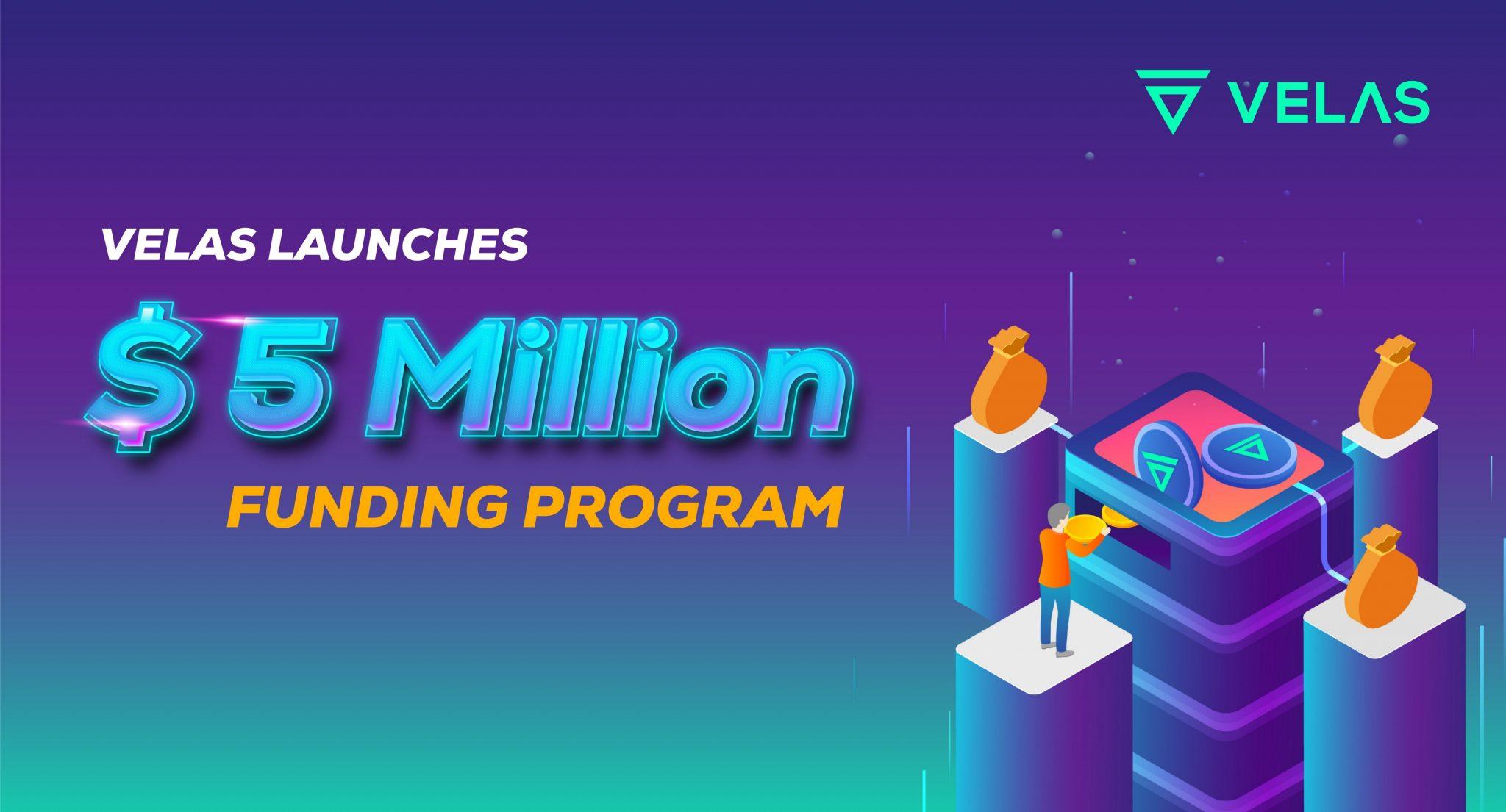 Velas запускает программу грантов в размере $5 млн