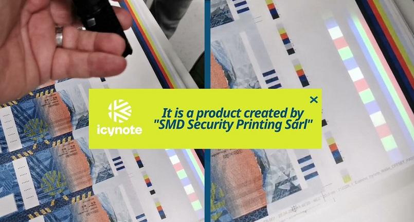 Компания SMD Security Printing Sàrl выпустила бумажный холодный кошелек